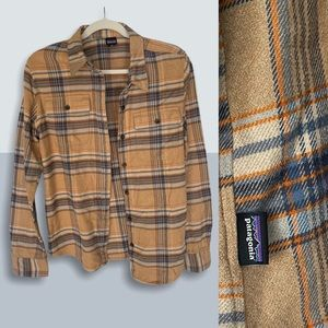 PATAGONIA Fjord Long Sleeve Flannel Top
